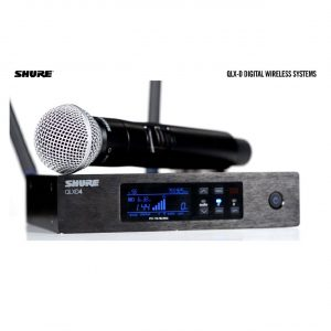 SHURE Wireless Receiver QLXD4UK-K51
